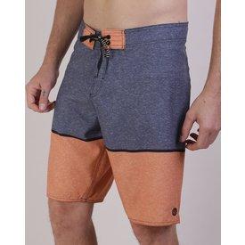 bermuda surf masculina listrada bolso cordão cinza mescla