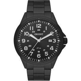 relógio orient masculino preto analógico mpss1028 p2px preto