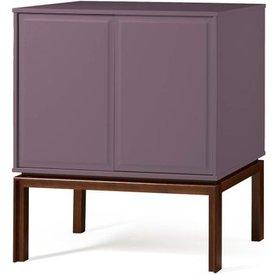 adega quartzo 2 portas cor cacau lilas  29130 29130