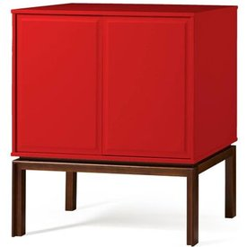 adega quartzo 2 portas cor cacau vermelho  29122 29122