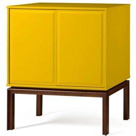 adega quartzo 2 portas cor cacau amarelo  29121 29121