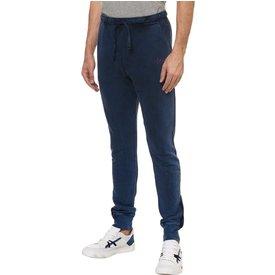 calça calvin klein masculina moletom stoned azul índigo