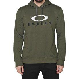 moletom oakley fechado dual hoodie masculino verde