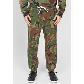 calça moletom polo ralph lauren slim militar verde