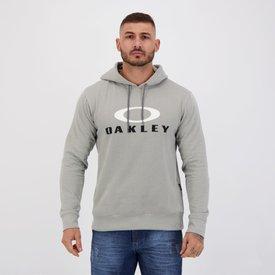 moletom oakley double style cinza