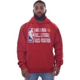 blusa moletom nba basketball vermelho
