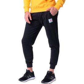 calça moletom masculina new balance essentials field day preto
