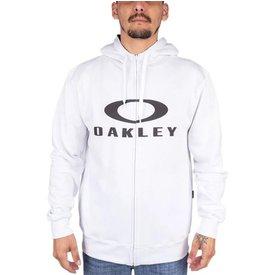 moletom oakley aberto zíper bark hoodie