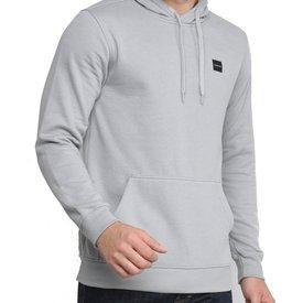 moletom oakley patch 2.0 hoodie masculino cinza claro