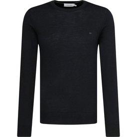 suéter calvin klein masculino ckj logo preto