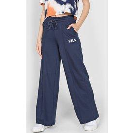 calça moletom fila pantalona cx azulmarinho