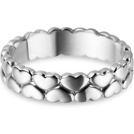 anel life corações