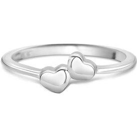 anel life dois corações