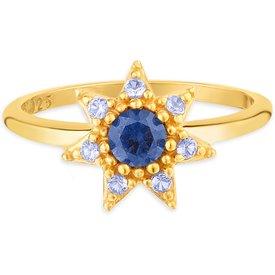 anel life cosmic banho ouro amarelo