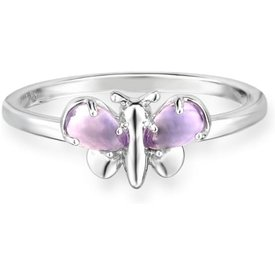 anel life borboleta ametista