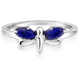 anel life libélula lápis lazuli