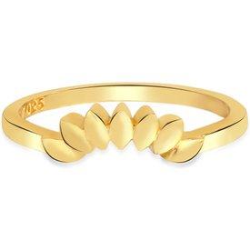 anel life marquise banho ouro amarelo