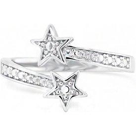 anel life estrelas duplo
