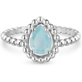 anel life ágata azul  mês dezembro