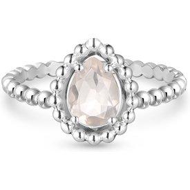anel life quartzo rosa  mês outubro