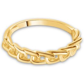 anel life together banho ouro amarelo