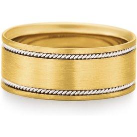 aliança casamento ouro amarelo ouro branco