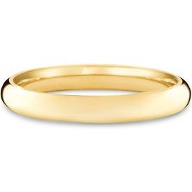 aliança casamento ouro amarelo 3mm
