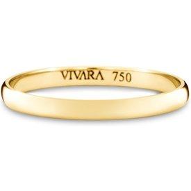 aliança casamento ouro amarelo i 2mm