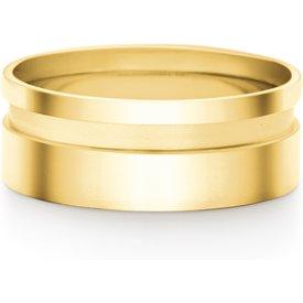 aliança casamento ouro amarelo 8mm