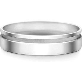aliança casamento ouro branco 6mm
