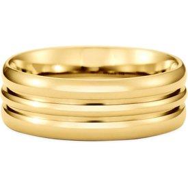 aliança casamento ouro amarelo love 6mm