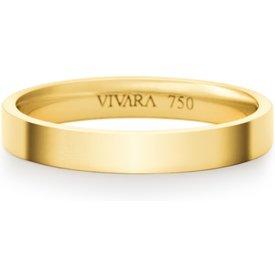 aliança casamento essence ouro amarelo 3mm