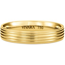 aliança casamento ouro amarelo 4.7mm