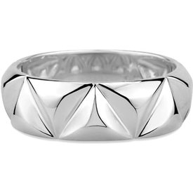 anel icona prata