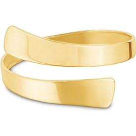 anel fitas ouro amarelo