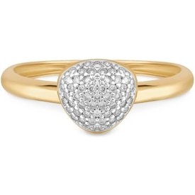 anel bold ouro amarelo diamantes