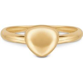 anel bold ouro amarelo pequeno