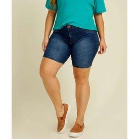 bermuda plus size feminina jeans bolsos biotipo