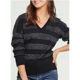 suéter feminino tricô brilho marisa