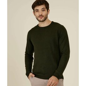 suéter masculino básico manga longa mr