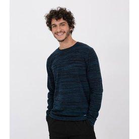 suéter manga longa liso