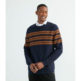 suéter tricô listrada textura