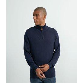 suéter tricô liso zíper
