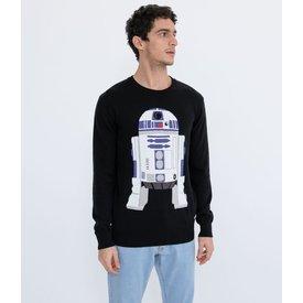 suéter estampa star wars