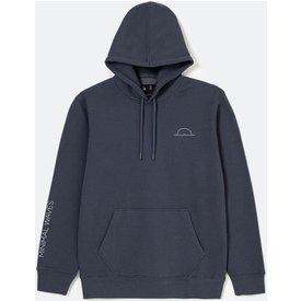 blusão moletom estampa navy onda minimalista