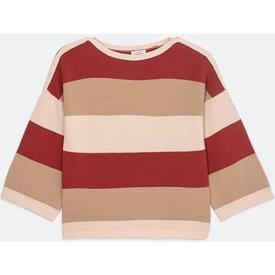 suéter viscose listrado