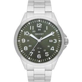 relógio masculino orient mbss1380 e2sx analógico 50m