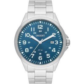 relógio masculino orient mbss1380 d2sx analógico 50m