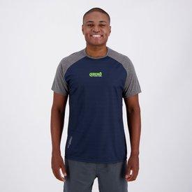 camiseta ecko active marinho cinza