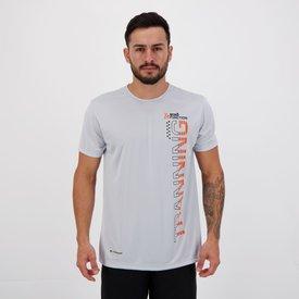 camiseta ecko active training cinza